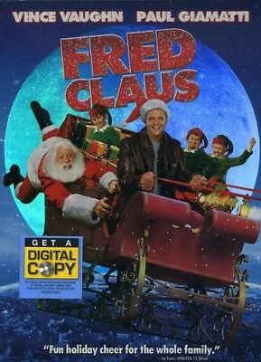 Fred Claus [New DVD] Full Frame, O-Card Packaging, Subtitled, Widescreen