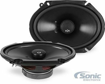 "4) NVX NSP68 160W RMS 6"" x 8"" N-Series Coaxial Car Stereo Speakers (2 Pairs)"