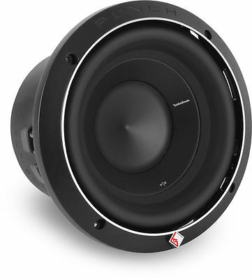 "ROCKFORD FOSGATE 500W 8"" Punch P2 Series Dual 2-Ohm Car Subwoofer 