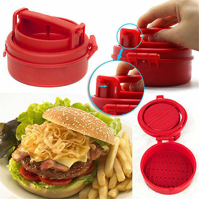 Stuffed Burger Press Hamburger Grill BBQ Patty Maker Juicy As Seen On TV L3
