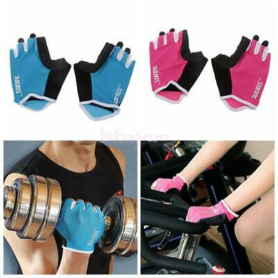 Weight Lifting Gym Training Workout Fitness Sports Gloves Fingerless Gloves