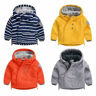 Toddler Kids Baby Boys/Girls outerwear Hooded coat Winter warmth Jacket Clothing