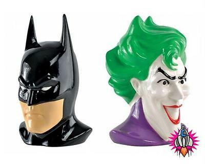 Official Dc Comics Batman And Joker Bookends Cd Dvd Game Storage New In Gift Box