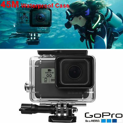 45M Waterproof Housing Case Cover Replacement for GoPro Hero 5 Camera Accessory