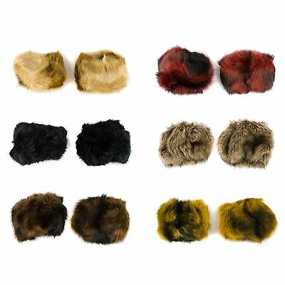 Faux Fur Wristband