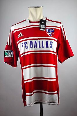 FC Dallas 96 Trikot Home Gr. XL / XXL Adidas MLS Jersey rot 2012-2013 USA Soccer