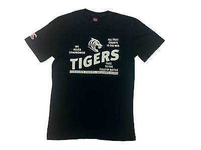 CCC leicester tigers tiger distressed tee [black] - X-Large