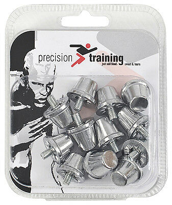 Precision Training Alloy Football Screw-in Studs Box of 6 Sets