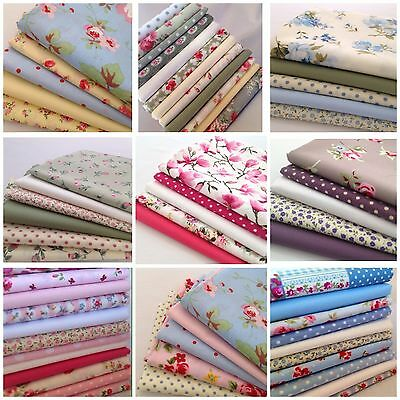 Fabric 10 cm squares pack quilting, sewing 100 % cotton, some have Cath Kidston