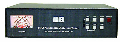 MFJ-991B - Intellituner Auto Tuner (1.8 To 30MHz) (150W)