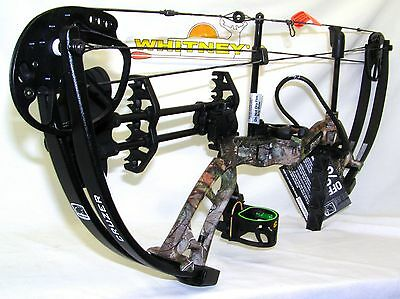 """Fred Bear Cruzer Bow Camo Right Hand Package 5-70#  12-30"""""""