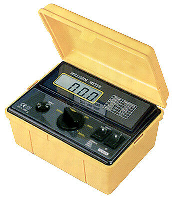 REED K5090 110V Milli-Ohmmeter with 5 Measuring Ranges & a Large LCD Display.