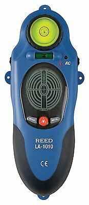 REED LA-1010 Stud/Metal/AC Voltage Detector with Continuous Live Wire Detection