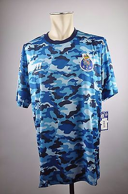 2014-15 FC Porto Trainings Trikot Gr. XXL Warrior Shirt Camouflage Eyecatcher