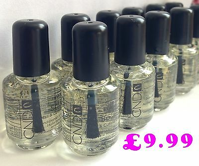 CND SOLAR OIL Nail & Cuticle Conditioner 3.7ml x 5 Bottles  !!!