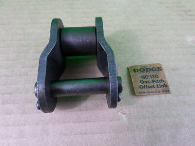 Dodge No. 120 One-Pitch Offset Link