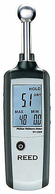 REED R6010 Pinless Moisture Meter. Non-Invasive Moisture Detector with LCD