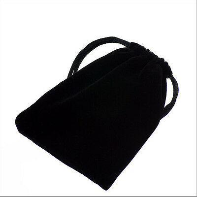 Black Velvet Gift Bags - Perfect for Small Gifts Jewellery, Mini Crystals