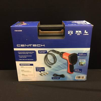 "CEN-TECH Digital Inspection Camera Item 62359 2.4"" Screen 8.5mm Video Out Cable"