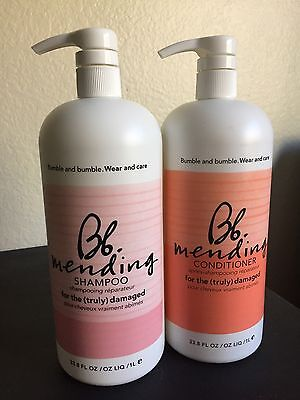 Bumble and bumble Mending Shampoo and Conditioner DUO Set 1L/33.8fl.oz Each