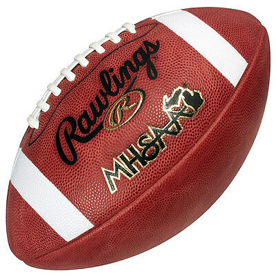 Rawlings Official NFHS ST5 MHSAA High School Game Football Michigan