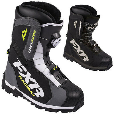 FXR Racing Backshift BOA Mens Snowboard Skiing Sled Snowmobile Boots