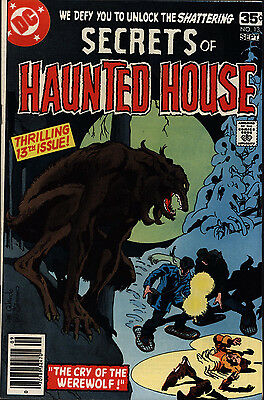 Secrets of Haunted House #13 Fine/Very Fine Bronze Horror DC Comics 1979 *SA