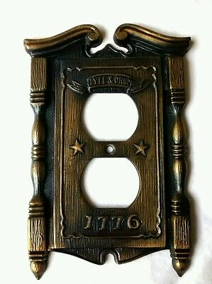 Fyfe & Drum 1776 Vintage Metal Switch Plate