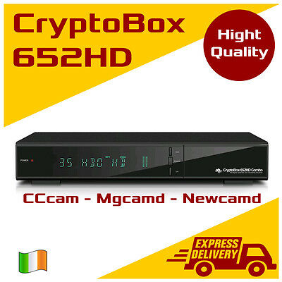 AB CryptoBox 652 HD COMBO DVB-S2/T/T 1080p CI LAN USB PVR HDTV SaorView FreeView