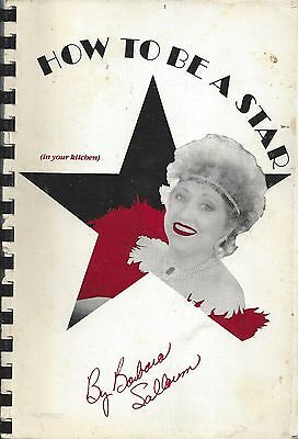 GULFPORT MS *HOW TO BE A STAR 1988 COOK BOOK BARBARA SALLOUM *inscribed *WLOX TV