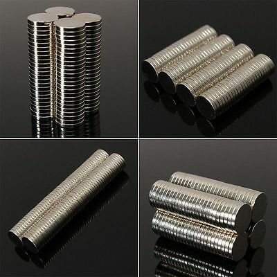 50-100Pcs Super Strong Round Disc 10x1mm 10x2mm Magnets Rare-Earth Neodymium N35