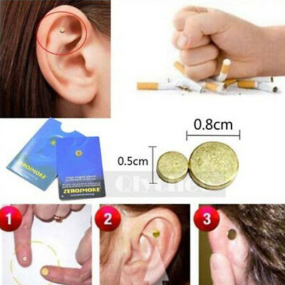 Top Quit Smoking Acupressure Healthy Care Auricular Magnet Therapy Zero Smoke