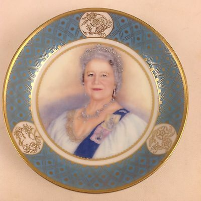 QUEEN ELIZABETH THE QUEEN MOTHER CELEBRATION OF HER LIFE c2002 PRETTY CHINA DISH