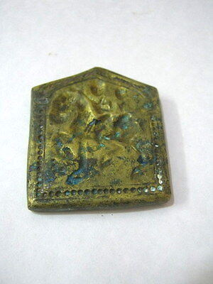 Antique Mold Design Die Stamp Seal  Brass  / Bronze , Rare