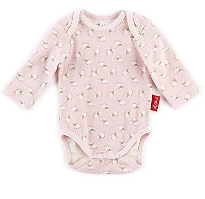 Sigikid - Body, New Born, Body unisex bimbi, barely pink 666, 50 (Taglia produtt