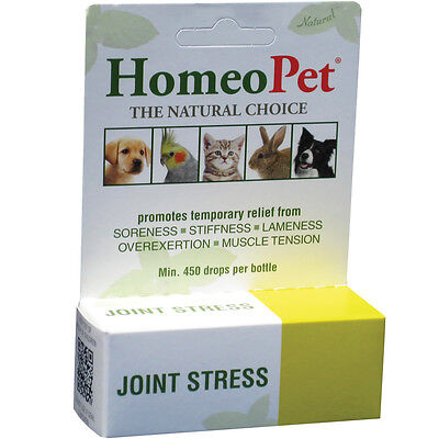 HomeoPet Joint Stress Hip Joint & Back Pain Relief Dogs Cats Pets Animals