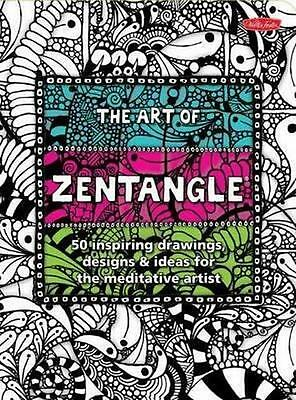 NEW The Art of Zentangle By P Raile Paperback Free Shipping