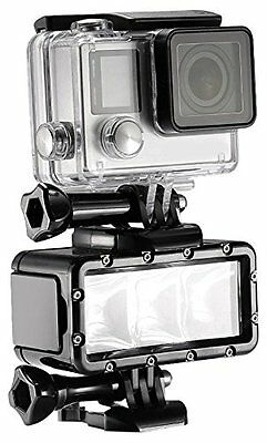 Neewer 3 LED Dimmable Waterproof Flash Diving Light (Underwater 30m) with a 1000