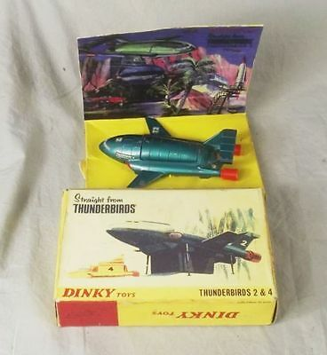 Boxed Dinky Toys 101: Thunderbird 2 (and 4)