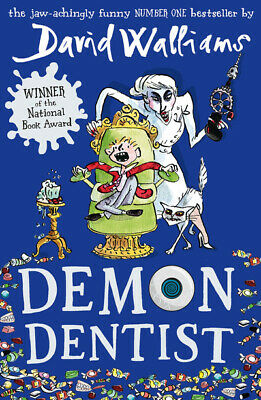 Demon dentist by David Walliams (Paperback) Incredible Value and Free Shipping!