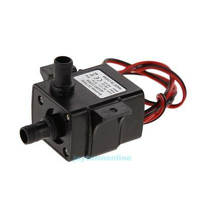 Waterproof 3M 240L/H DC12V Solar Ultra Quiet Brushless Water Pump Submersible