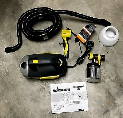 NEW - Wagner Control Spray Max HVLP Variable Control Paint Sprayer