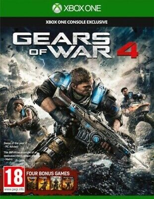 Gears of War 4 (Xbox One) PEGI 18+ Shoot 'Em Up Expertly Refurbished Product