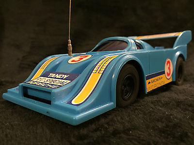 Vintage Radio Shack Tandy RC Racing Car Porsche Remote Control Formula 1