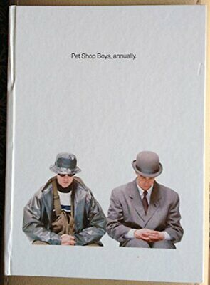 """Pet Shop Boys"", Annually Hardback Book The Cheap Fast Free Post"