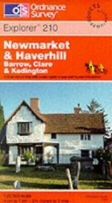 Newmarket and Haverhill. Barrow, Clare &... by Ordnance Survey Sheet map, folded