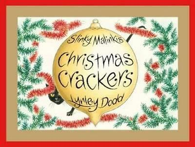 NEW Slinky Malinki's Christmas Crackers By Lynley Dodd Board Book Free Shipping
