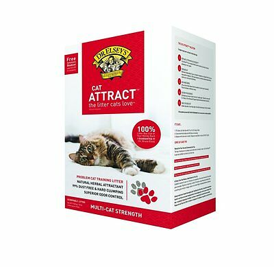 Dr. Elsey's Cat Attract Cat Litter by Precious Cat ,20 lb,Superior Odor [003031]
