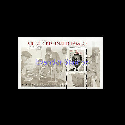 South Africa 2015 Oliver Tambo MS, MNH