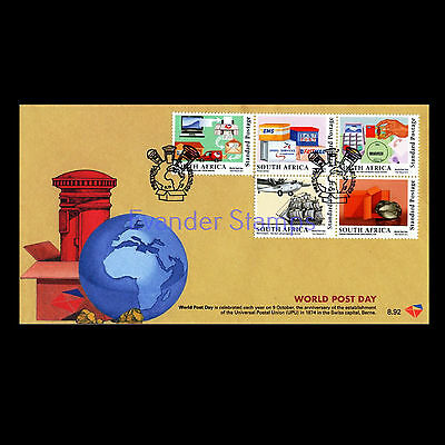 South Africa 2015 World Post Day FDC